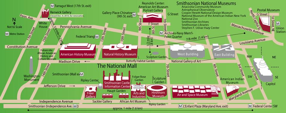 Smithsonian-Map